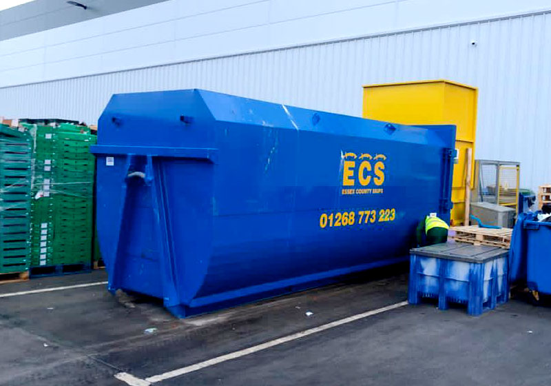 Compactor Commercial Skips Essex by ECS