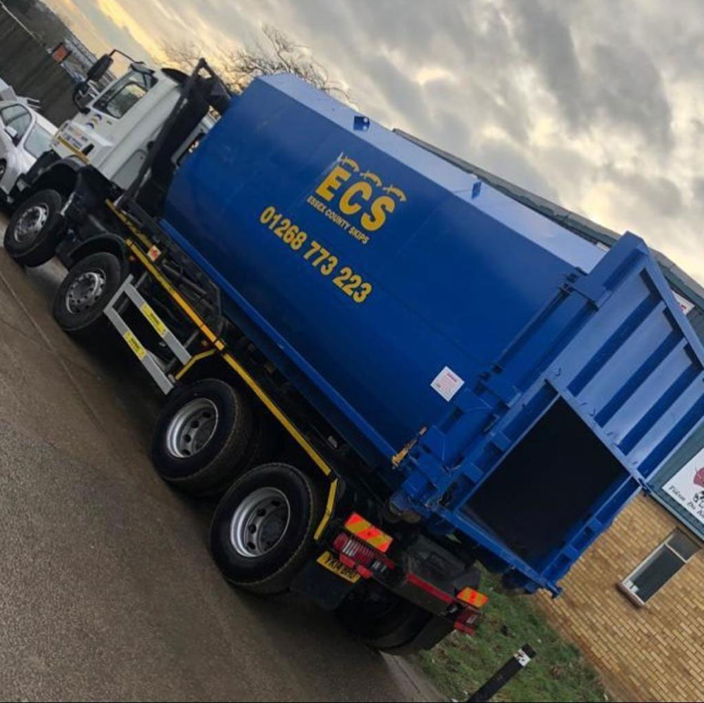 Commercial Skip Hire Essex from ECS