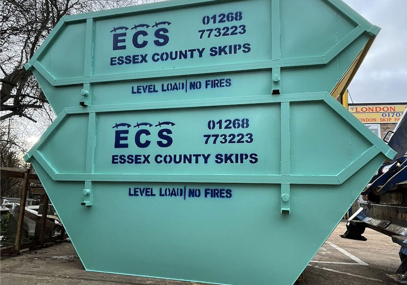 Large Commercial Skips Hire Essex by ECS