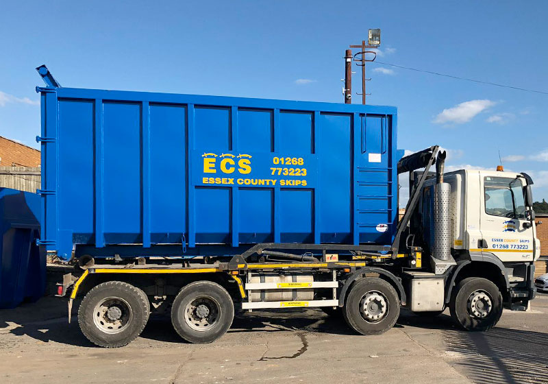 Roll on Roll off Skips Essex by ECS