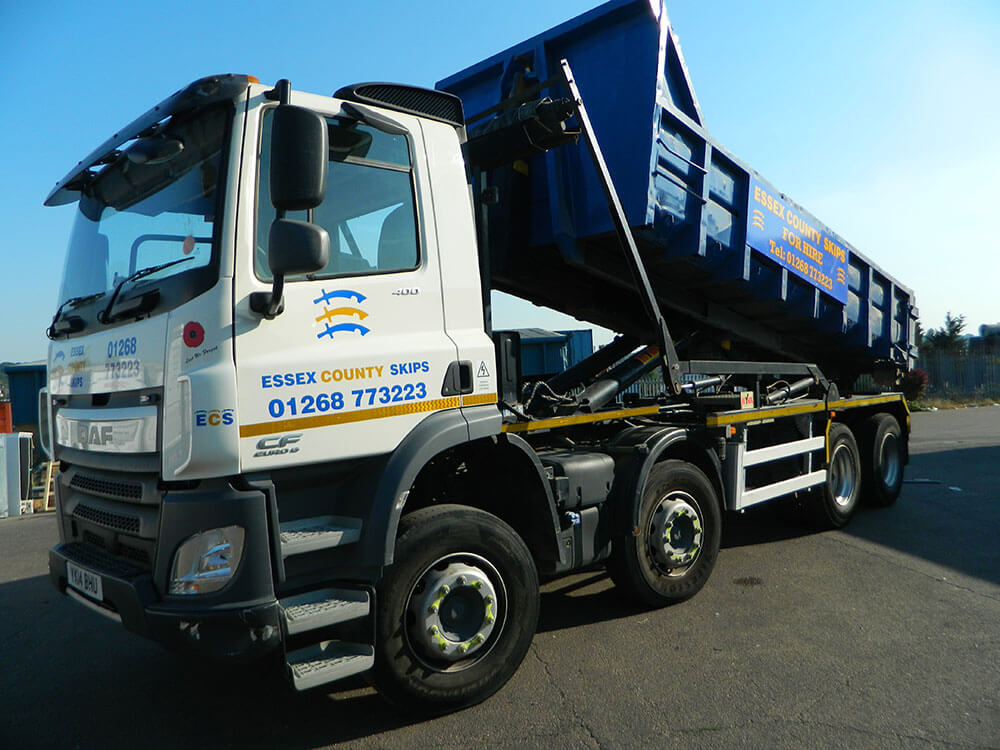 Roll On Roll Off Skip Hire Grays by ECS