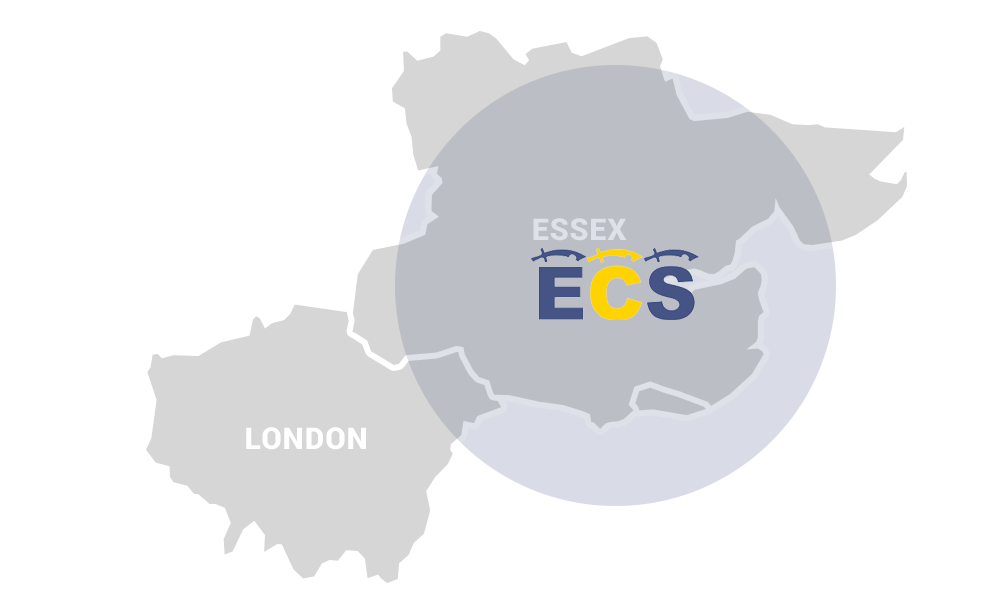 ECS Skip Hire Grays Coverage Area